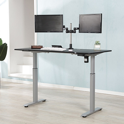 Adjustable desk computer tables height computer standing desk mechanism