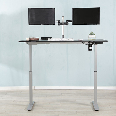 Electric desk frame desktop adjustable sit to stand office desk
