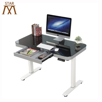 Electric office desk height laptop adjustable desk