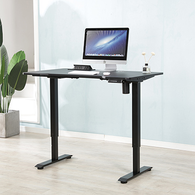 Electric standing desk frame height adjustable sit and stand table