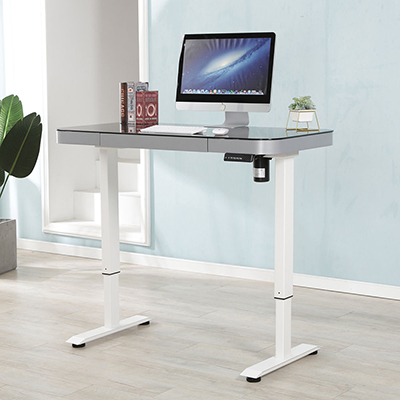 Adjustable table height Electric lift mechanism Motor standing desk